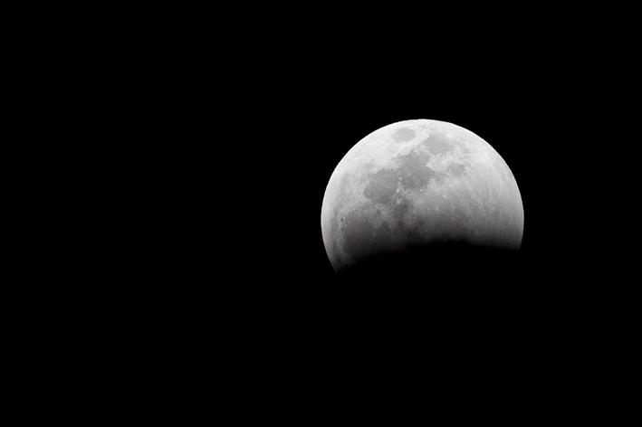 Lunar eclipse Kruger National Park