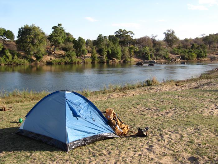 Backpack trail, Kruger National Park